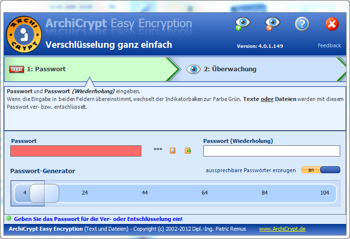 AchiCrypt Easy Encryption