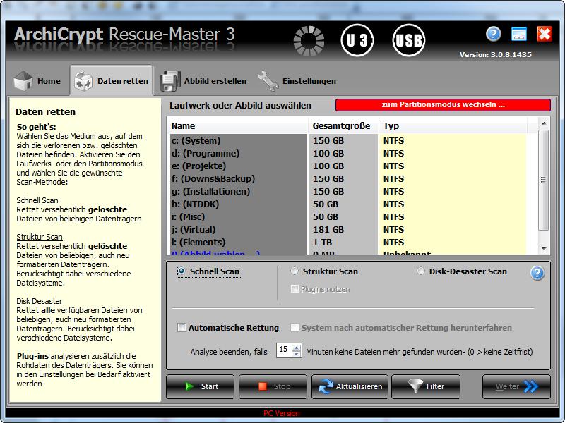 AchiCrypt Rescue-Master