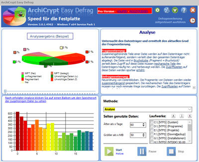 AchiCrypt Easy Defragmentation