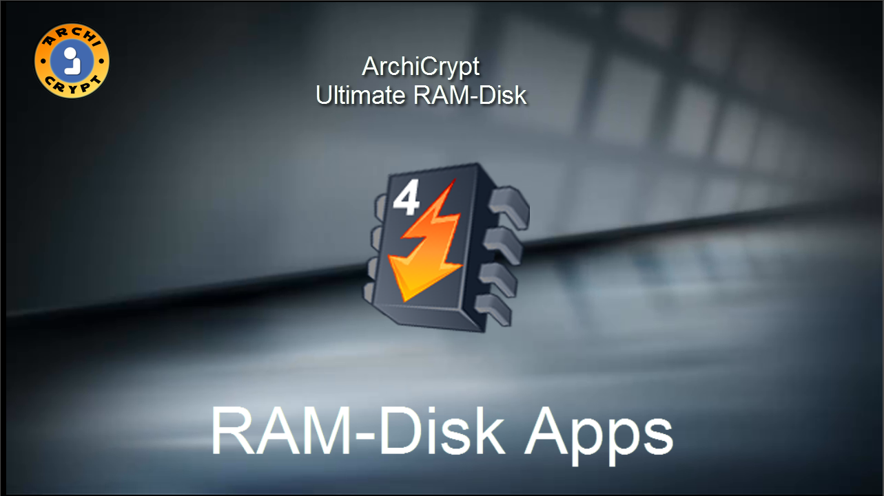 Ultimate RAM-Disk Apps