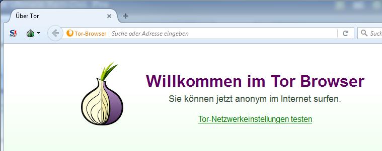 Tor Browser auf RAM-Disk