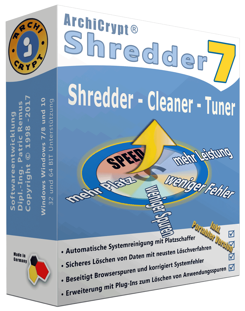 Shredder 7 Box