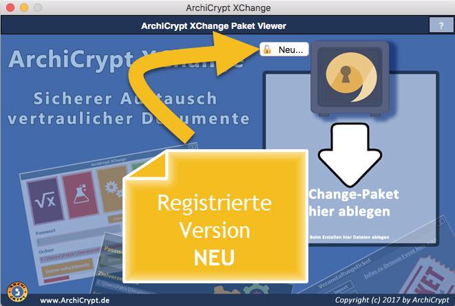 XChange Paket neu erstellen