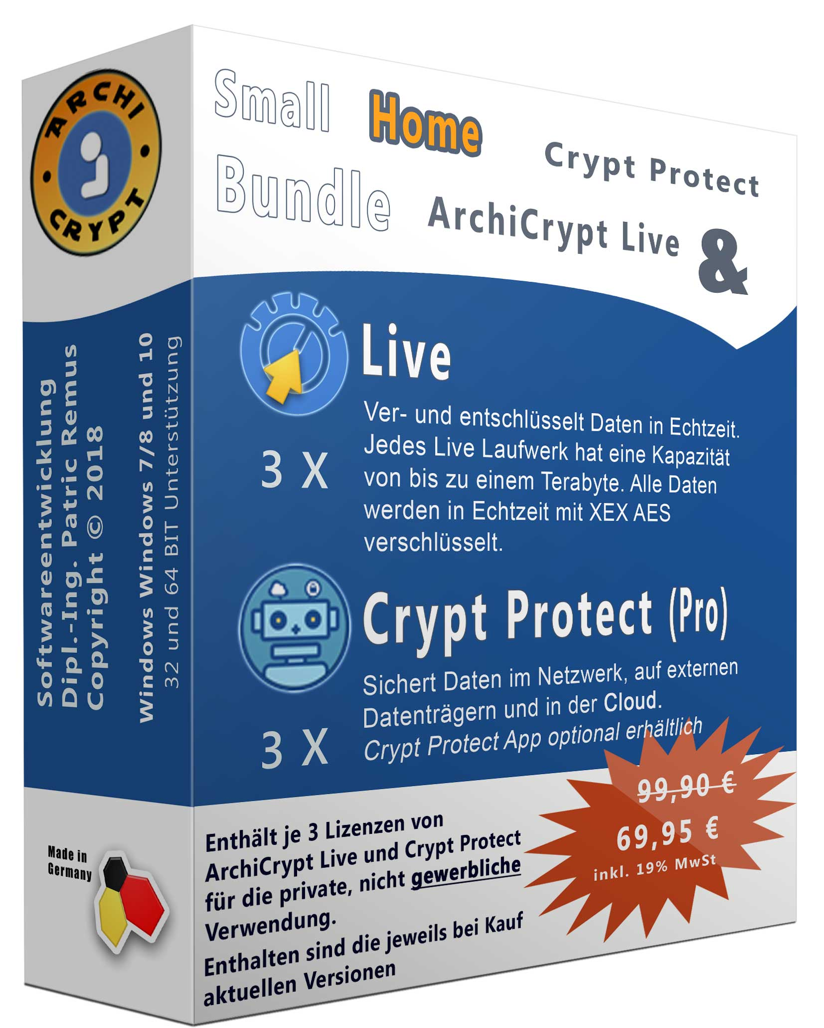 Crypt Protect+Live Bundle