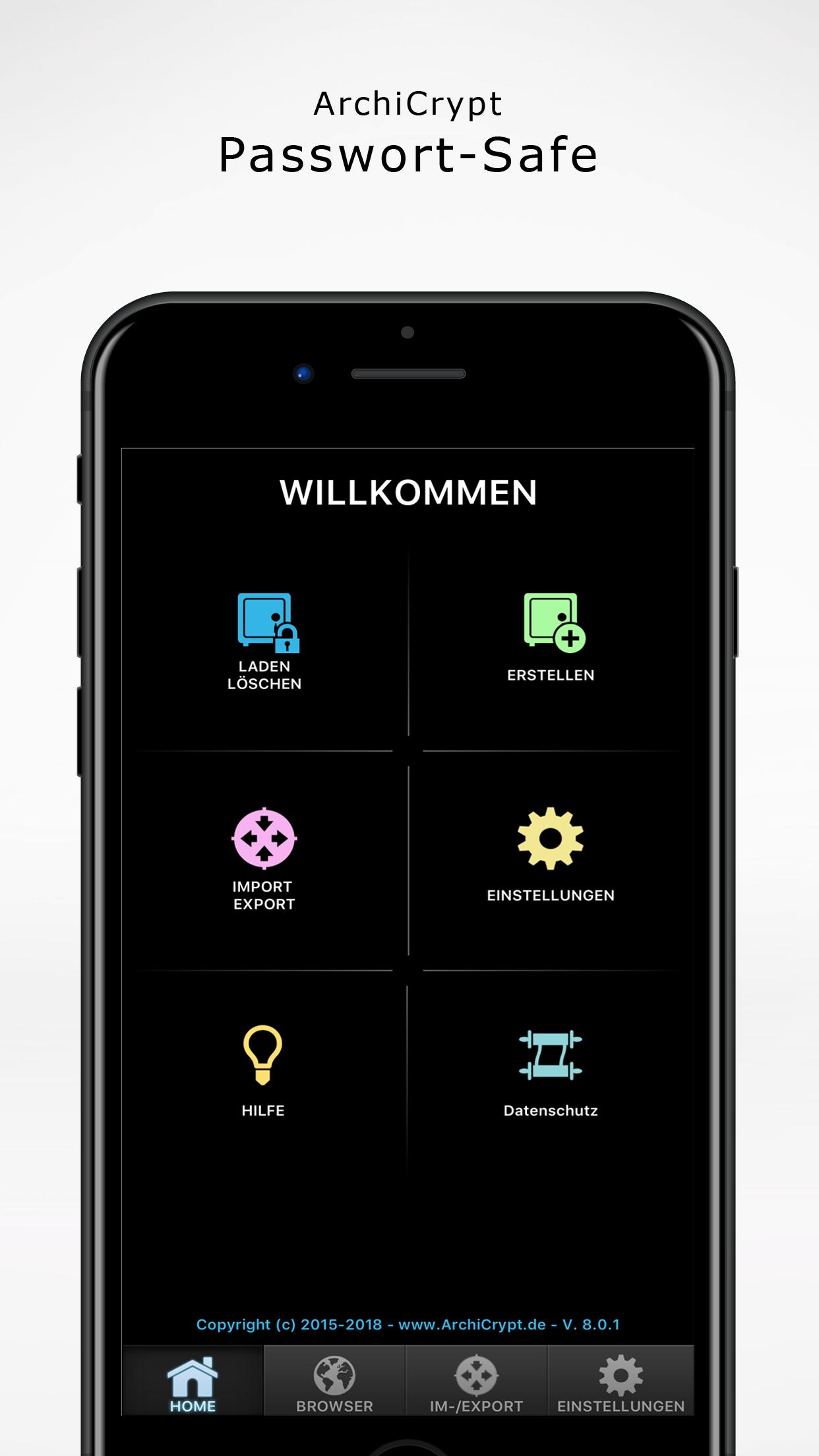 Passwort Safe iOS und Android