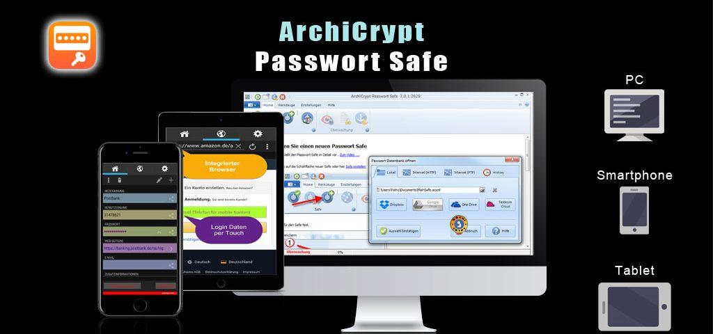 Schaukarte Passwort Safe