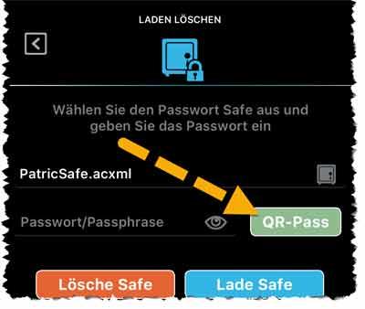 Passwort Alternative QR-Passcode
