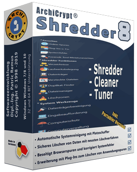 Shredder 8 Box